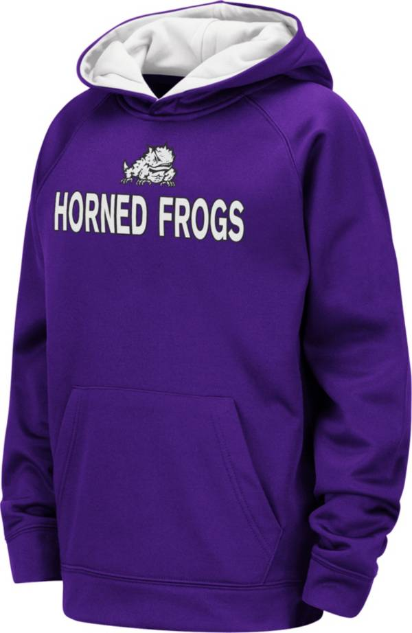 Colosseum Youth TCU Horned Frogs Purple Pullover Hoodie product image