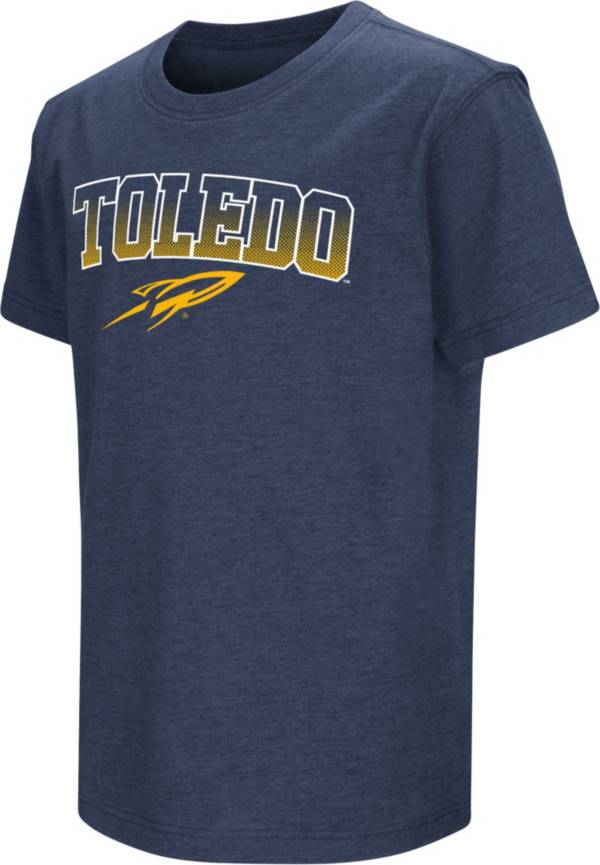 Colosseum Youth Toledo Rockets Midnight Blue Dual Blend T-Shirt product image