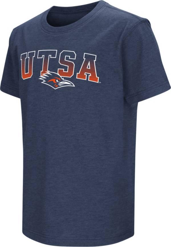 Colosseum Youth UT San Antonio Roadrunners Blue Dual Blend T-Shirt product image