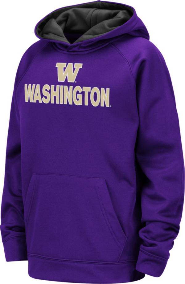 Colosseum Youth Washington Huskies Purple Pullover Hoodie product image
