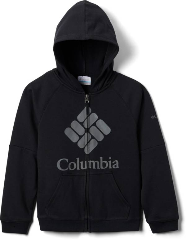 Columbia Boy's Branded French Terry Full-Zip Hoodie product image