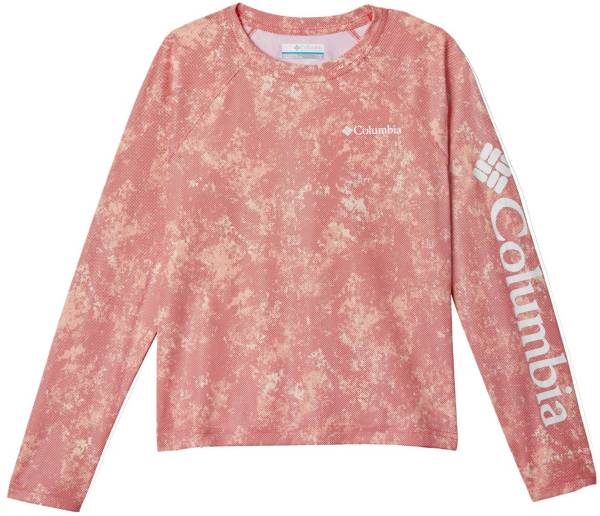 Columbia Girls' Solar Chill Printed Long Sleeve Shirt product image