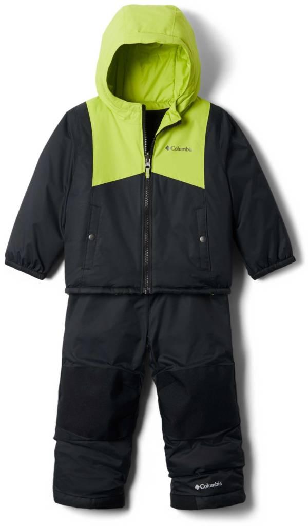 Columbia Infant Reversible Double Flake Jacket and Bib Set product image