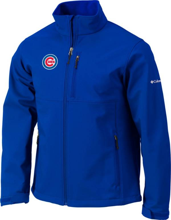 Columbia Men's Chicago Cubs Blue Ascender Full-Zip Softshell Jacket product image