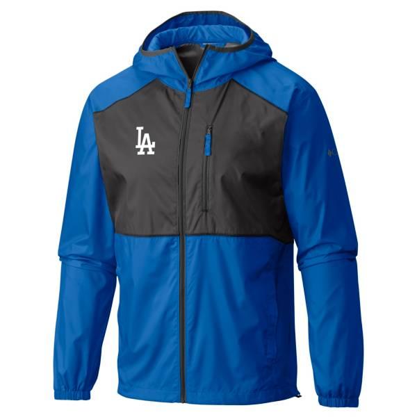 Columbia Men's Los Angeles Dodgers Dodger Blue Flash Forward Full-Zip Windbreaker Jacket product image
