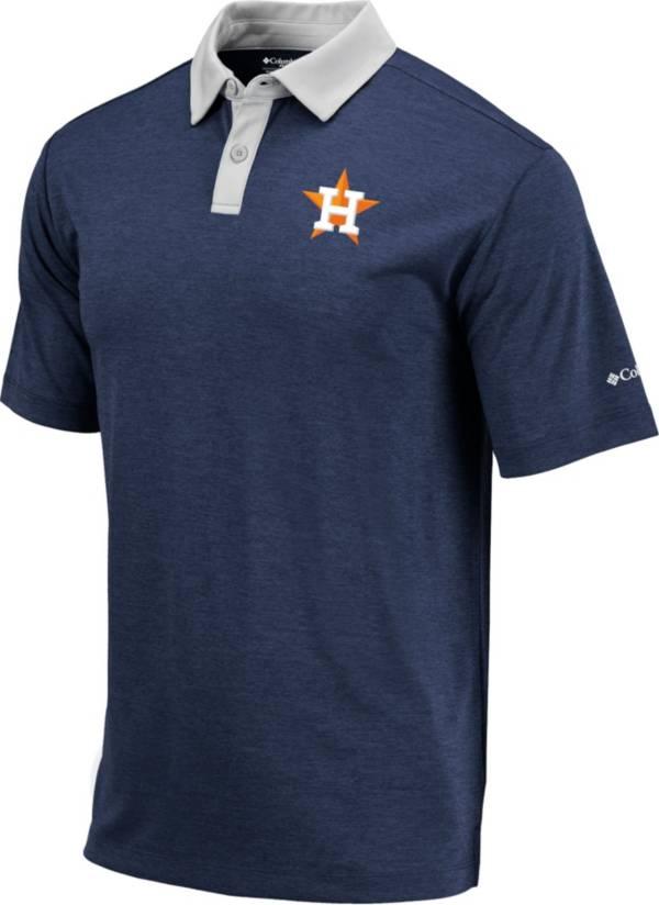 Columbia Men's Houston Astros Navy Omni-Wick Range Polo product image