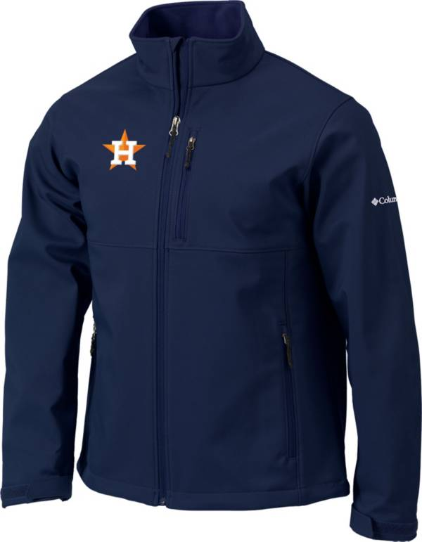 Columbia Men's Houston Astros Navy Ascender Full-Zip Softshell Jacket product image