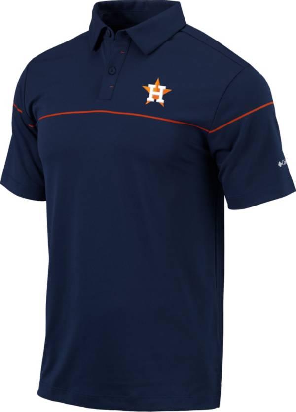 Columbia Men's Houston Astros Navy Omni-Wick Breaker Polo product image