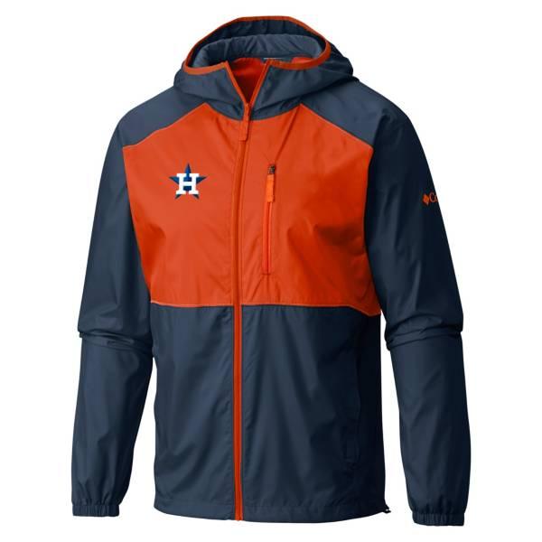 Columbia Men's Houston Astros Navy Flash Forward Full-Zip Windbreaker Jacket product image