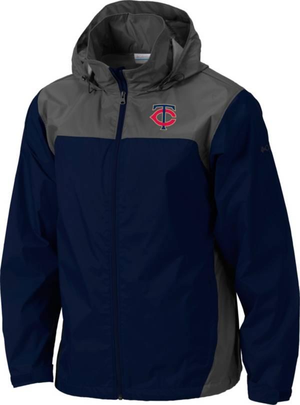 Columbia Men's Minnesota Twins Navy Glennaker Lake Rain Jacket product image