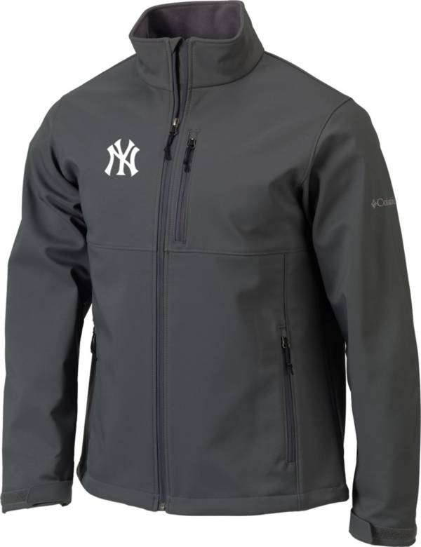 Columbia Men's New York Yankees Blue Ascender Full-Zip Softshell Jacket product image