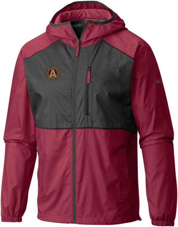 Columbia Men's Atlanta United Flash Forward Red Full-Zip Windbreaker Jacket product image