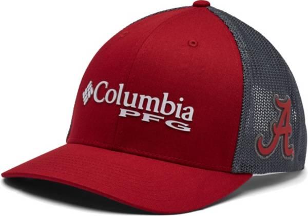 Columbia Men's Alabama Crimson Tide Crimson PFG Mesh Fitted Hat product image