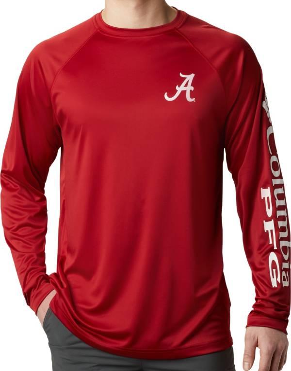 Columbia Men's Alabama Crimson Tide Crimson Terminal Tackle Long Sleeve T-Shirt product image