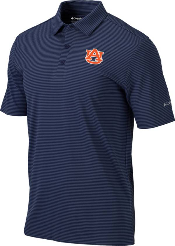 Columbia Men's Auburn Tigers Blue One Swing Performance Polo product image