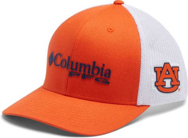 Columbia Men's Auburn Tigers Orange PFG Mesh Fitted Hat product image