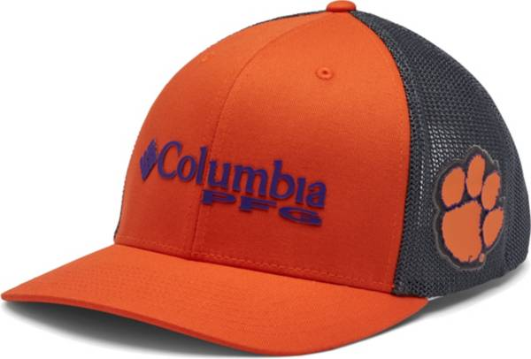 Columbia Men's Clemson Tigers Orange PFG Mesh Fitted Hat product image