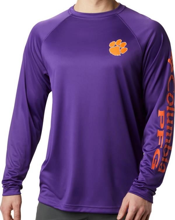 Columbia Men's Clemson Tigers Regalia Terminal Tackle Long Sleeve T-Shirt product image