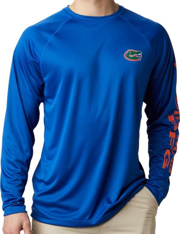 Columbia Men's Florida Gators Blue Terminal Tackle Long Sleeve T-Shirt product image