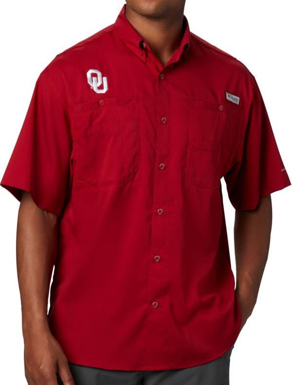 Columbia Men's Oklahoma Sooners Crimson Tamiami Performance Shirt product image