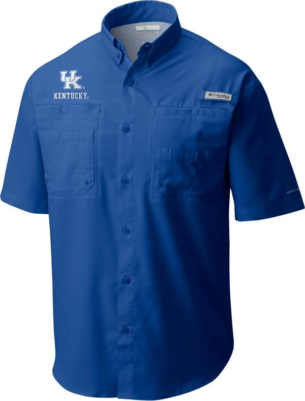 Columbia Men's Kentucky Wildcats Blue Tamiami Performance Shirt product image