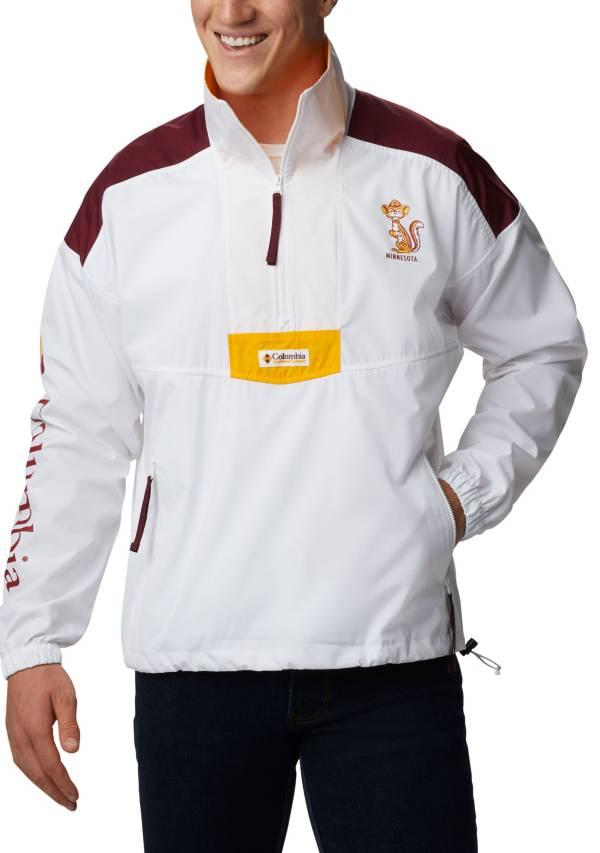 Columbia Men's Minnesota Golden Gophers Maroon Santa Ana Quarter-Zip Anorak Jacket product image