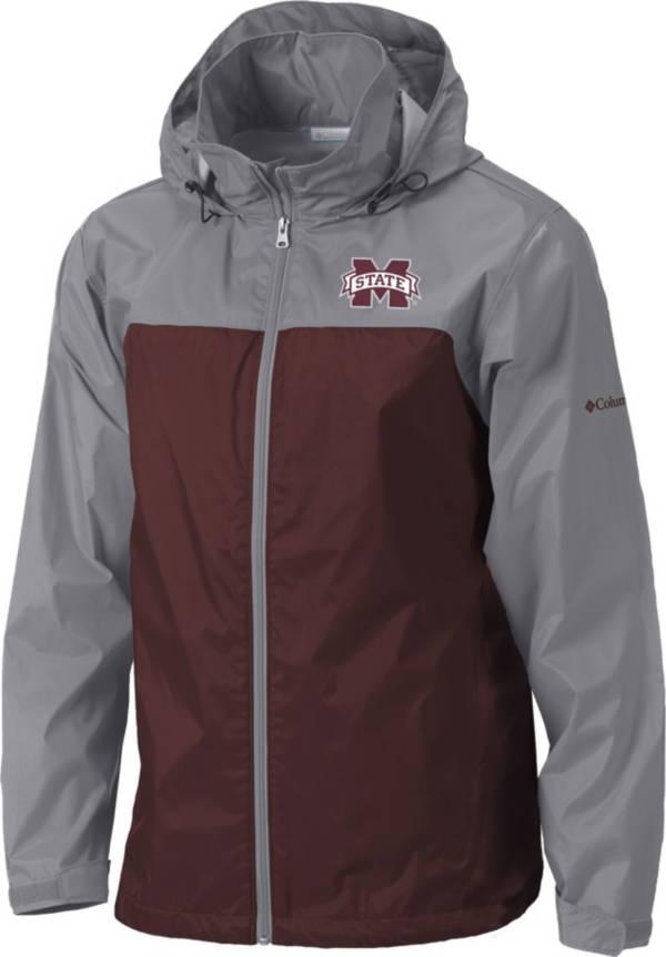 Columbia Men's Mississippi State Bulldogs Grey/Maroon Glennaker Lake II Jacket product image