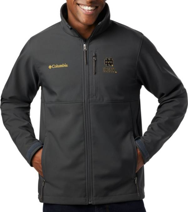 Columbia Men's Notre Dame Fighting Irish Grey Ascender Jacket product image