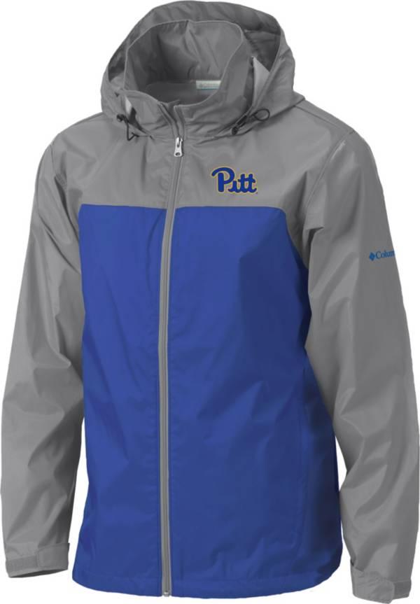 Columbia Men's Pitt Panthers Grey/Blue Glennaker Lake II Jacket product image