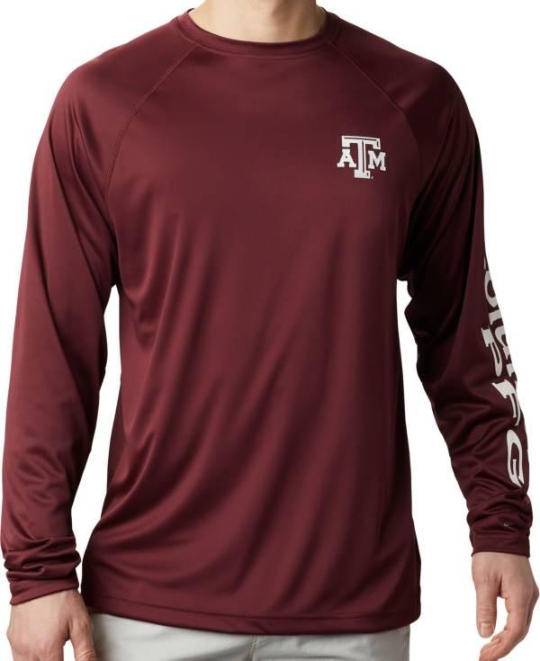 Columbia Men's Texas A&M Aggies Maroon Terminal Tackle Long Sleeve T-Shirt product image
