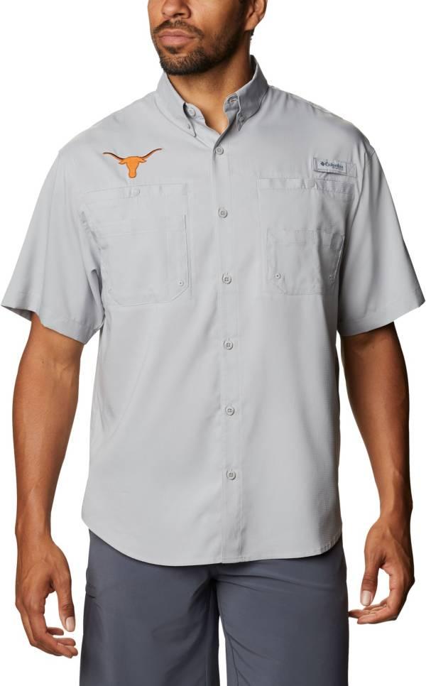Columbia Men's Texas Longhorns Grey Tamiami Performance Shirt product image