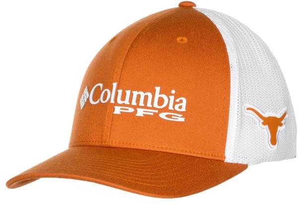 Columbia Men's Texas Longhorns Burnt Orange PFG Mesh Fitted Hat product image