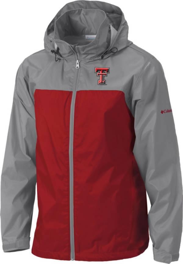 Columbia Men's Texas Tech Red Raiders Grey/Red Glennaker Lake II Jacket product image