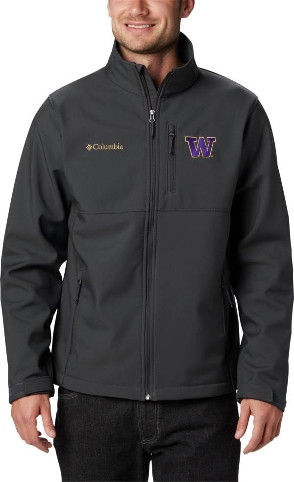 Columbia Men's Washington Huskies Grey Ascender Jacket product image