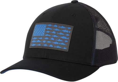 674d5136afb Columbia Men s PFG Mesh Snapback Fish Flag Hat. noImageFound. Previous