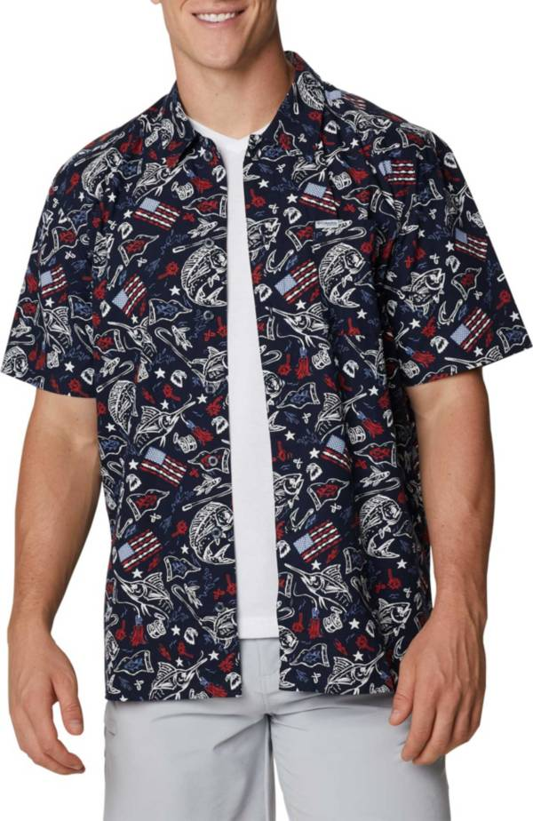Columbia Men's Trollers Best Short Sleeve Button Down Shirt product image