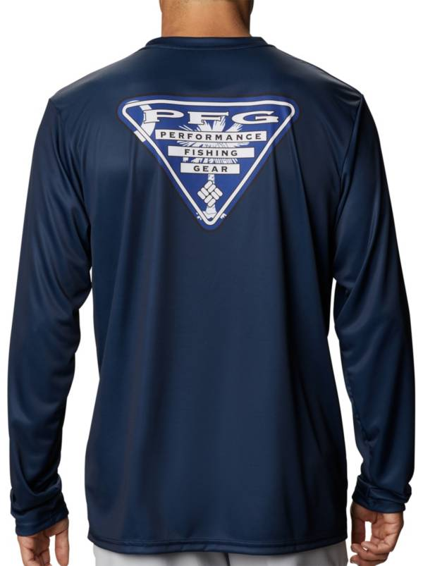 Columbia Terminal Tackle PFG State Triangle Long Sleeve Shirt (Regular and Big & Tall) product image