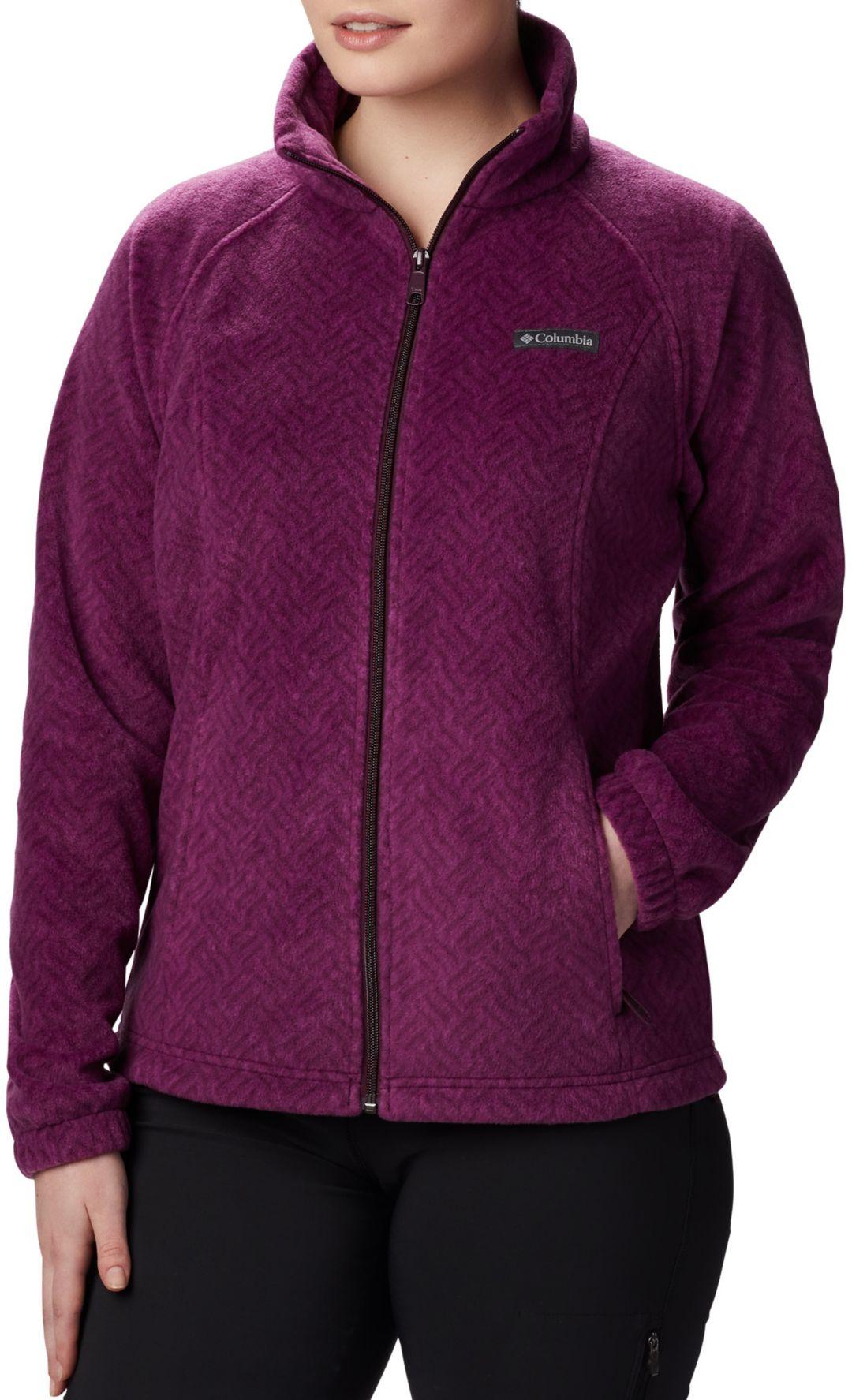Columbia Springs Zip Benton Print Full Women's Jacket Fleece rdtshQxC