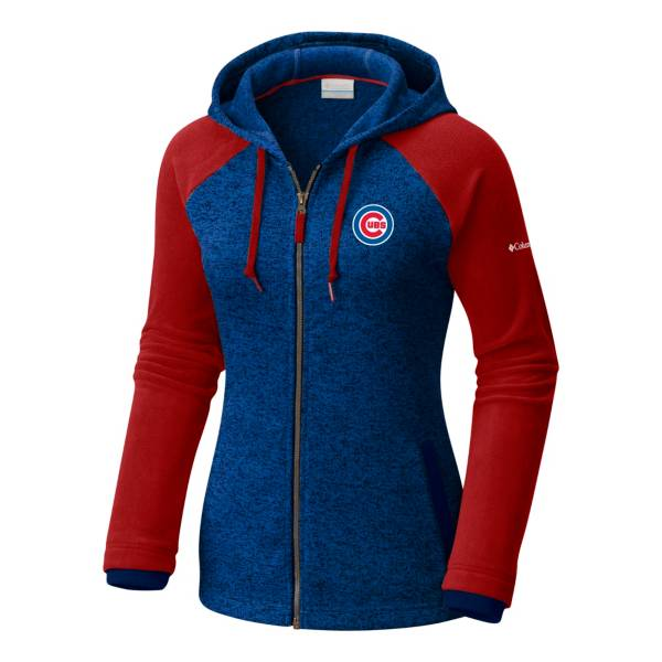 Columbia Women's Chicago Cubs Blue Darling Days Full-Zip Hoodie product image