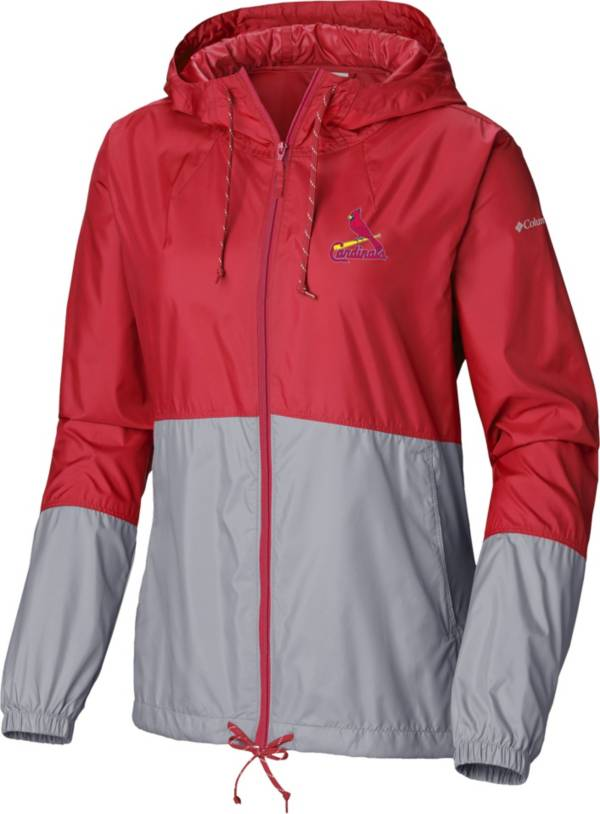 Columbia Women's St. Louis Cardinals Red Flash Forward Windbreaker product image