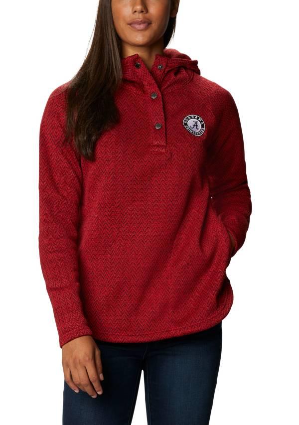 Columbia Women's Alabama Crimson Tide Crimson Darling Days Full-Zip Hoodie product image