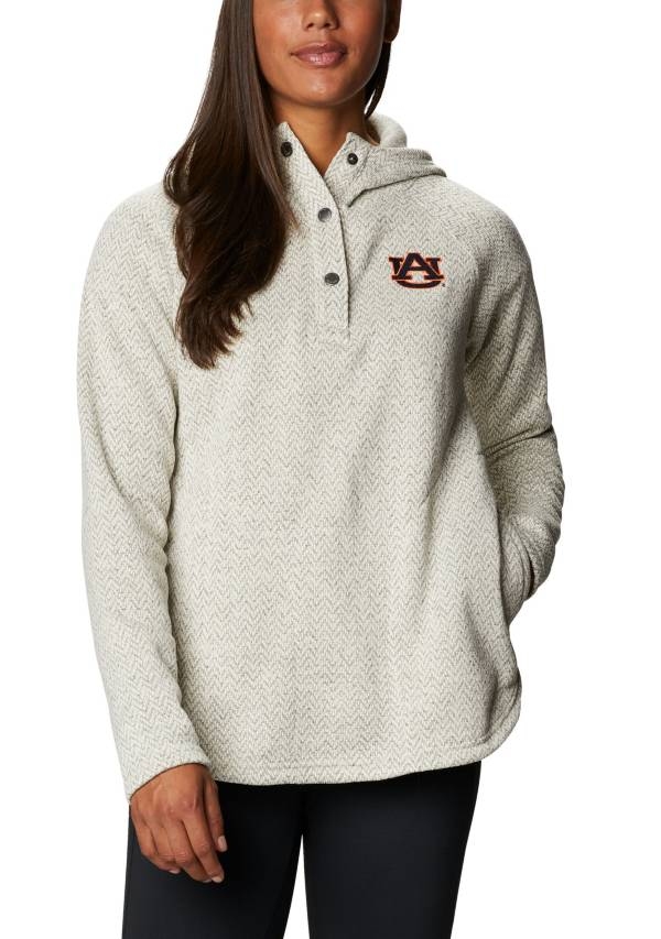 Columbia Women's Auburn Tigers Darling Days Full-Zip White Hoodie product image