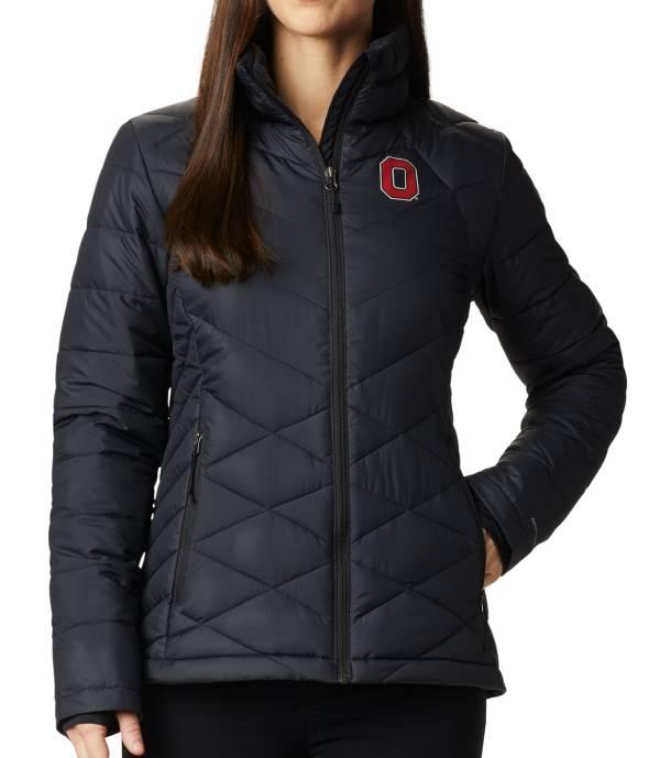 Columbia Women's Ohio State Buckeyes Heavenly Full-Zip Black Jacket product image