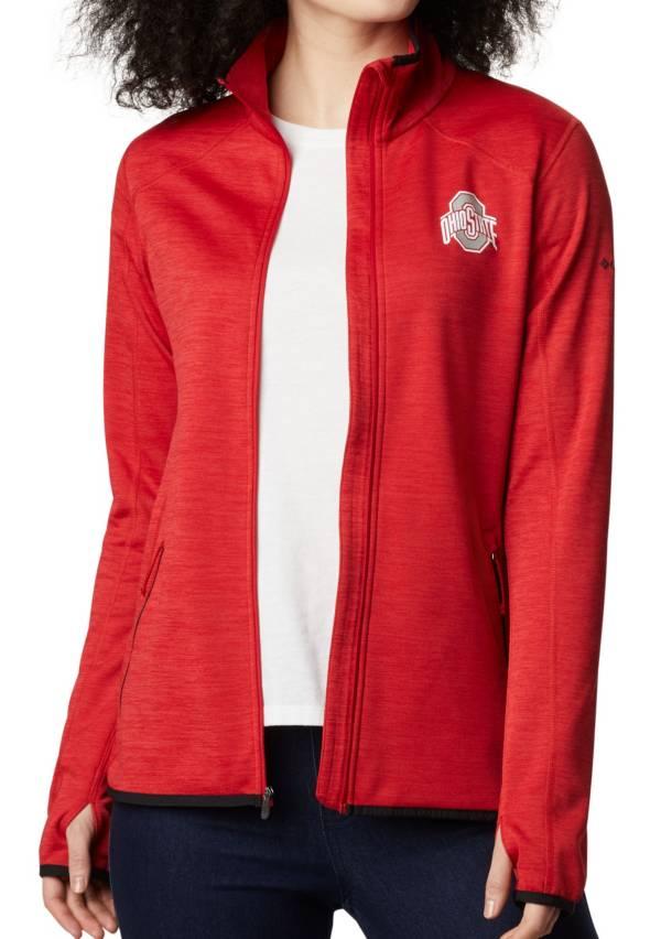 Columbia Women's Ohio State Buckeyes Scarlet Darling Days Full-Zip Hoodie product image