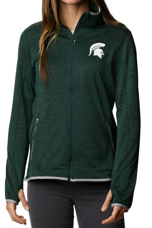 Columbia Women's Michigan State Spartans Green Darling Days Full-Zip Hoodie product image