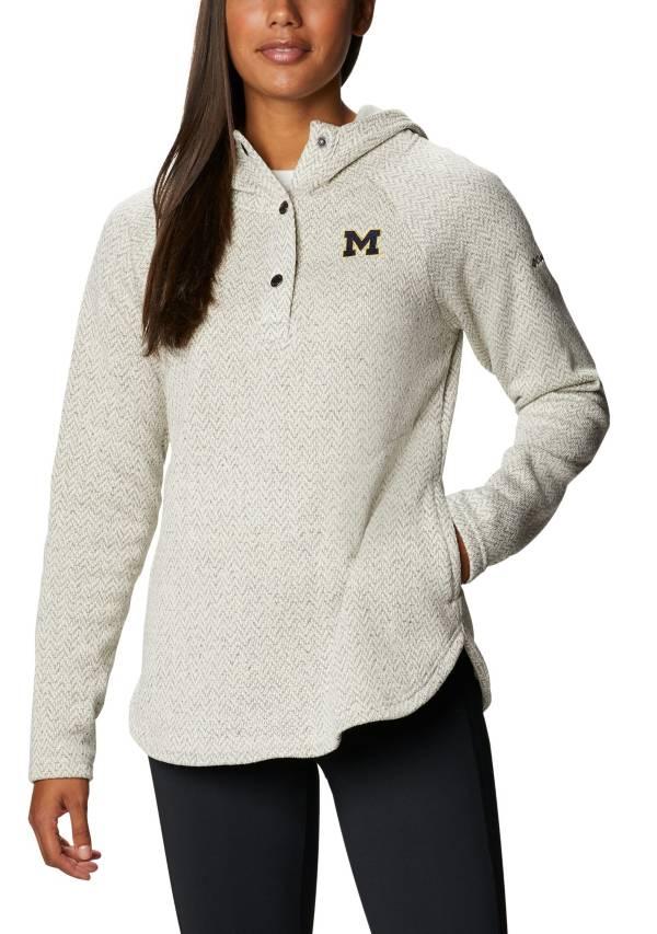 Columbia Women's Michigan Wolverines Darling Days Full-Zip White Hoodie product image