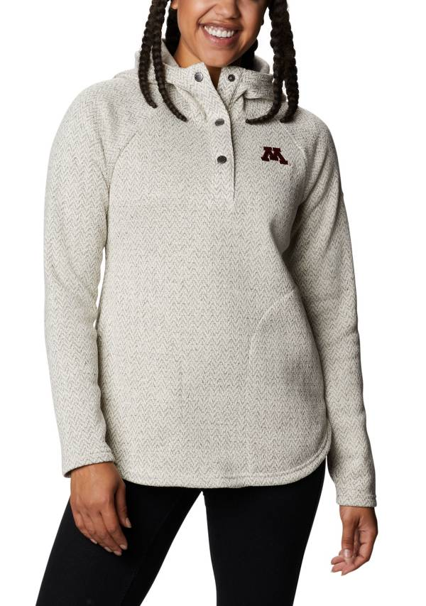 Columbia Women's Minnesota Golden Gophers Darling Days Full-Zip White Hoodie product image