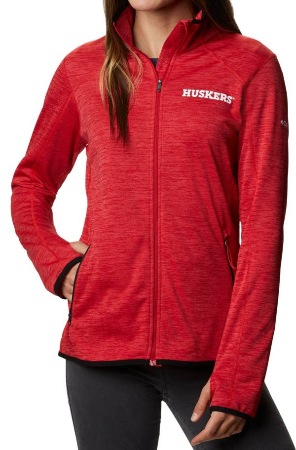 Columbia Women's Nebraska Cornhuskers Scarlet Darling Days Full-Zip Hoodie product image