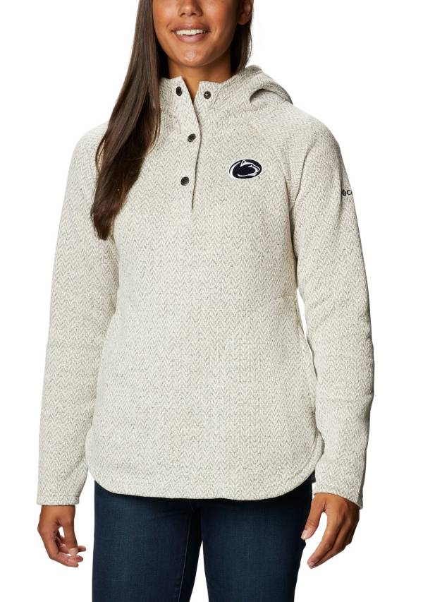 Columbia Women's Penn State Nittany Lions Darling Days Full-Zip White Hoodie product image