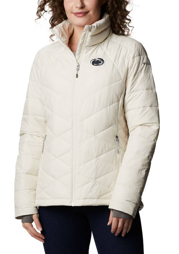 Columbia Women's Penn State Nittany Lions White Heavenly Full-Zip Jacket product image